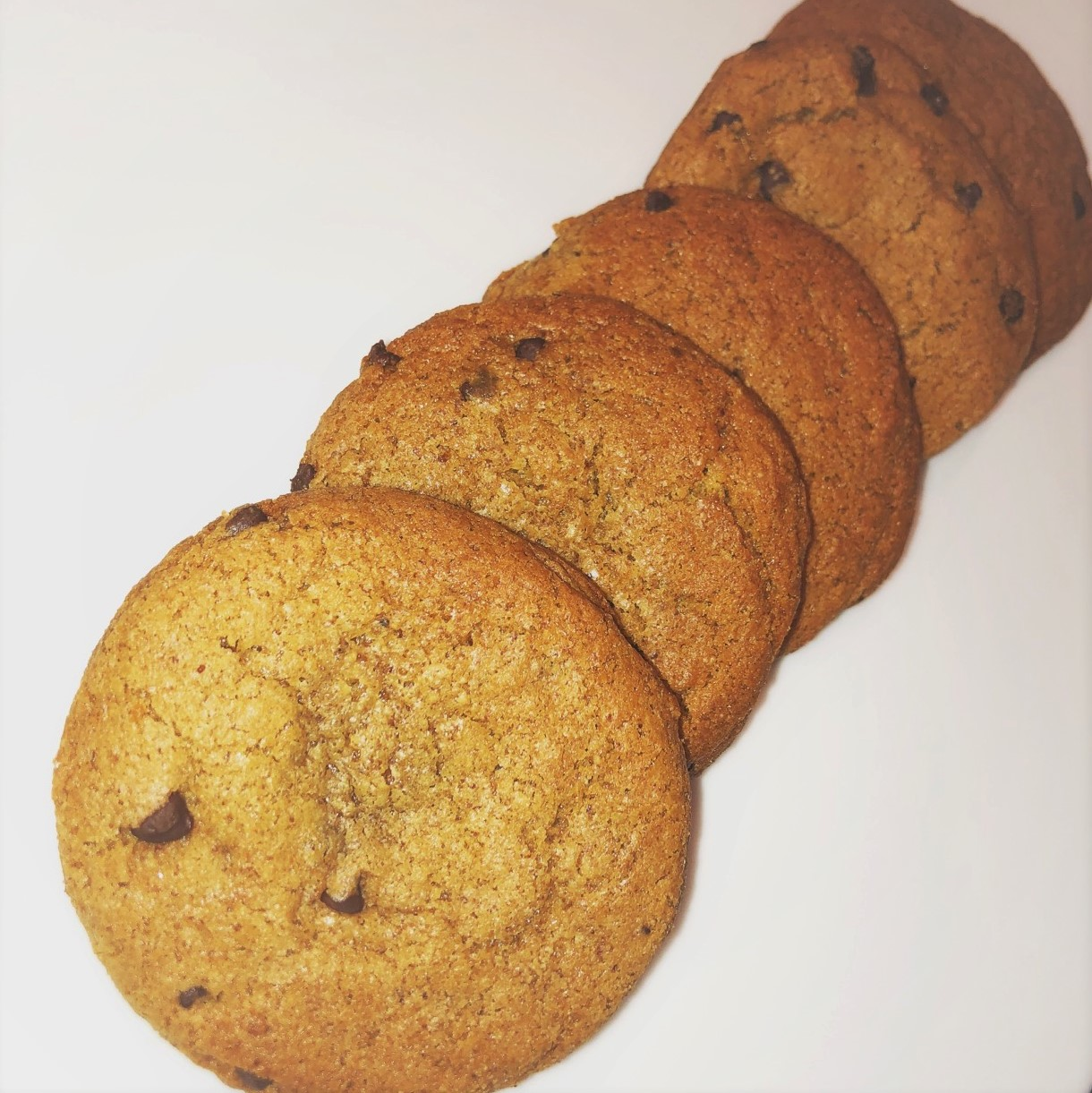 Almond Butter Chocolate Chip Cookies<br>Gluten-Free