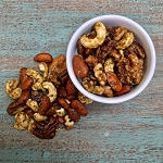 Cajun Seasoned Nut Mix 12 oz bag