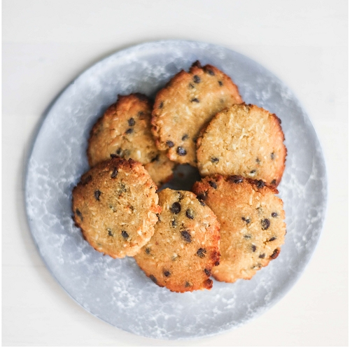 Coconut Chocolate Chip Cookies (Gluten-Free)
