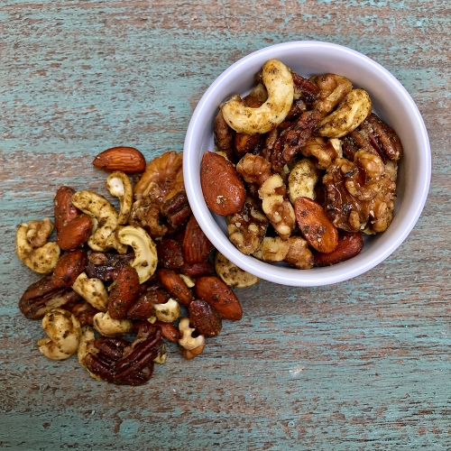Seasoned Nut Mix 12 oz bag