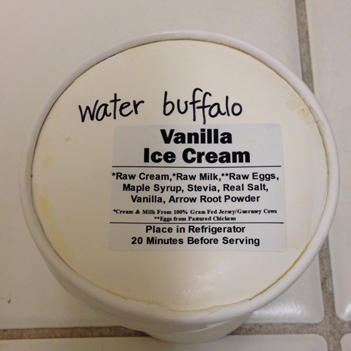 Water Buffalo<br>Ice Cream