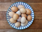 **Chicken Fertile Eggs (Soy FREE), 1 Dozen