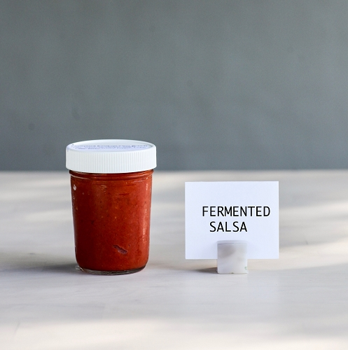 Fermented HOT Tomato Salsa Pint