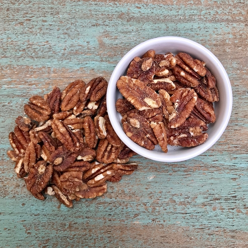 Raw Soaked Pecans 12 oz bag