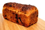 Soaked Cinnamon-Raisin Wheat Bread per loaf