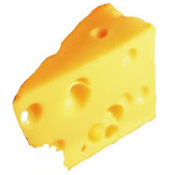 *Raw Swiss Cheese 5 lb Block
